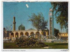 IRAQ/IRAK - AL-IMAM AL-AADHAM MOSQUE - BAGHDAD / CLOCK TOWER / Metallisèe - Iraq
