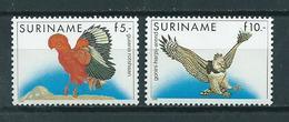 1986 Suriname Complete Set Birds,oiseaux,vögel MNH/Postfris/Neuf Sans Charniere - Surinam