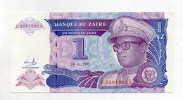 Zaire - 1993 - Banconota Da 1 Nuovo Zaire - Nuova -  (FDC2371) - Zaire
