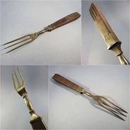 * FOURCHETTE DE SERVICE A DECOUPER - Couvert Cuisine Gibier - Vorken