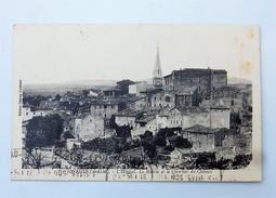 07 JOYEUSE (Ardèche) : L'Hopital, La Mairie Et Le Quartier Du Chateau, En 1935 - Joyeuse