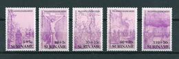 1987 Suriname Complete Set Easter,pasen MNH/Postfris/Neuf Sans Charniere - Surinam