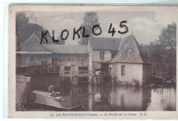 86 LA ROCHE POSAY ( Vienne ) - Le Moulin Sur La Creuse - Femmes Lavandières Laveuses ... - CPA Sépia R. D. N° 38 - La Roche Posay