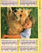 AKMANACH DES PTT 1996    CHAT CHIEN ENFANT  EDITER CARTIER BRESSON - Calendriers