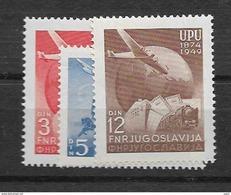 1949 MNH Joegoslavië, Postfris** - 1945-1992 Repubblica Socialista Federale Di Jugoslavia