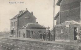 Roosbeek , Statie ,station ,intérieur De Gare - Boutersem