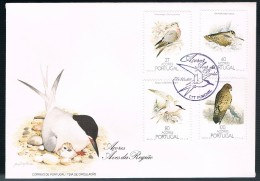 Portugal, 1988, FDC Aves Dos Açores, Carimbo Funchal - FDC