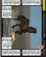 AKMANACH DES PTT 1999    CHEVAL   EDITER CARTIER BRESSON - Calendriers