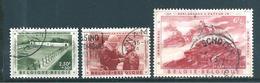 Belgique Timbres De 1957  N°1033/34 + 1036  Oblitérés - Belgique