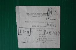 TARIFFA PARCHEGGIO - BUCAREST - 1970 - Titres De Transport