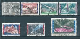 Belgique Timbres De 1958  N°1046 A 1052  Oblitérés - Belgique