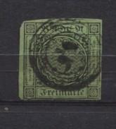 German States Baden 1851-52 3kr Used - Baden