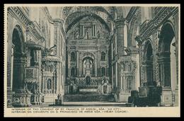 GOA -Interior Do Convento S. Francisco Xavier Em Goa(velha Cidade) (Ed. Souza & Paul) Carte Postale - Inde