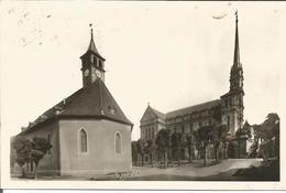 Montbéliard  église Catholique Et Temple Carte Photo - Montbéliard