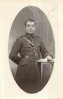 CARTE PHOTO SOLDAT AVEC LE CHIFFRE 3 SUR LE COL - Regimente