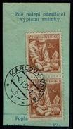 Tschechoslowakei 1954 - Arzt - MiNr 852 Stempel: Karlovy Vary - Gesundheit