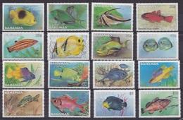 BAHAMAS 1986 MNH And MVLH - Fishes