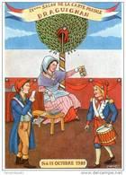VAR 83 DRAGUIGNAN SALON DE LA CARTE POSTALE ILLUSTRATEUR  ANDRE ROUSSEY BICENTENAIRE DE LA REVOLUTION 1789/1989 - Collector Fairs & Bourses