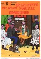 VAR 83 DRAGUIGNAN   1988 ILLUSTRATEUR  FABIEN MOREAU - Collector Fairs & Bourses