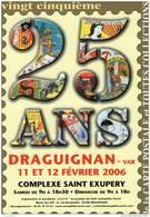 SALON DE LA CARTE POSTALE DRAGUIGNAN 2006 - Collector Fairs & Bourses