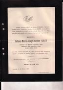 CONGO LOUVAIN Octave SIRET Mons 1863 - Mission De BASOKOS 28 Décembre 1896 Lt Etat Indépendant 2e Chasseurs à Cheval - Décès