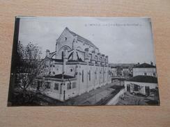 AGEN (47) L EGLISE DU SACRE COEUR   VOYAGEE 1922 - Agen