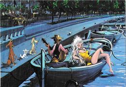 MALLORCA - Concierto Para Une Guitarra Y Tres Perros - Pintura De John Lodi - Mallorca