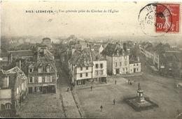 Lesneven Vue Generale Prise Du Clocher De L Eglise - Lesneven