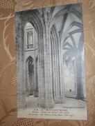 Ancienne Cp Mont Saint Michel Abbaye Piliers Du Choeur - Le Mont Saint Michel