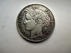 Frankrijk 5 Francs, 1849 BB  Ceres - J. 5 Francs