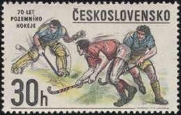 Czechoslovakia / Stamps (1978) 2307: 70 Years Of Field Hockey In Czechoslovakia; Painter: Igor Rumansky