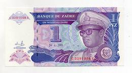 Zaire - 1993 - Banconota Da 1 Nuovo Zaire - Nuova -  (FDC2377) - Zaire