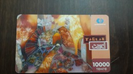 Kazakhstan-tarlan Card-10.000tehre-used Card+1card Prepiad Free