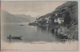 Quinten Am Wallensee - Photoglob No. 4108 - SG St. Gall