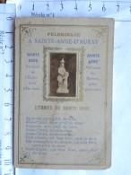 Image Religieuse Double - A Sainte Anne D'Auray - Devotion Images