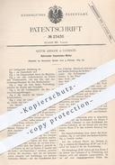 Original Patent - Astor Kissam , London , 1883 , Rotierender Expansions - Motor | Motoren , Rotation , Pumpe , Pumpen !! - Historische Dokumente