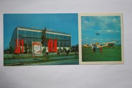 "UKRAINE. KIEV. ""CHAIKA"" DTSAAF AIRPORT / Aerodrome - Plane / Avion. Long Format 1980 - Aerodrome"