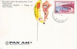 TONGA  PAN  AM  PPC  SPORTS  SO.  PACIFIC  GAMES  1969   BANANA - Tonga (1970-...)