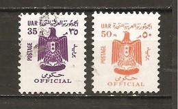 Egipto - Egypt. Nº Yvert  Servicio 79, 80-82 (usado) (o) - Service