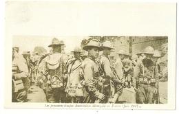 Mil 54- Les Premières Troupes Américaines Débarquées En France - Juin 1917 - Guerre 1914-18