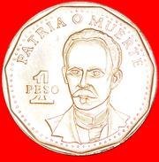 + National Hero Type (1991-2015): CUBA ★ 1 PESO 1992! LOW START ★ NO RESERVE! José Martí (1853–1895) - Cuba