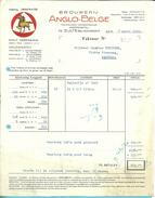 BROUWERIJ ANGLO-BELGE / ZULTE-BIJ-WAREGEM 1950  (BRASERIE / BIERRE) - Alimentaire