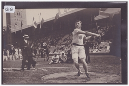 JEUX OLYMPIQUES DE STOCKHOLM 1912 - OLYMPISKA SPELENS - R.L. BIRD USA, 2nd IN THROWING THE DISCUS - TB - Olympische Spelen