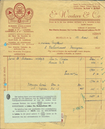 BROUWERIJ WOUTERS / BRUXELLES 1950  (BRASERIE / BIERRE) - Alimentaire