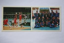 Sport. RUSSIA. . VOLLEYBALL Team -  1981 Postcard - Volleyball
