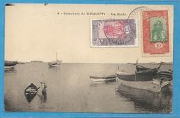 -= CÔTE Des SOMALIS - CPA De DJIBOUTI Pour BESANÇON (Doubs) -1927 =- - Côte Française Des Somalis (1894-1967)