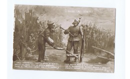 WWI ITALIAN PROPAGANDA - ANTI AUSTRIA - Franz Joseph I -  N. 5 - Patriotic