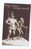 WWI ITALIAN PROPAGANDA - ANTI AUSTRIA - Franz Joseph I & WILLIAM OF PRUSSIA - Patriotic