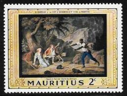 Mauritius, Scott # 333 Mint Hinged Painting, 1968 - Mauritius (1968-...)