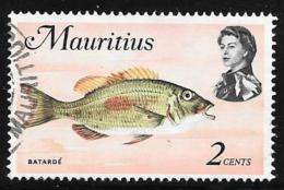 Mauritius, Scott # 339a Used Fish, 1974 - Mauritius (1968-...)